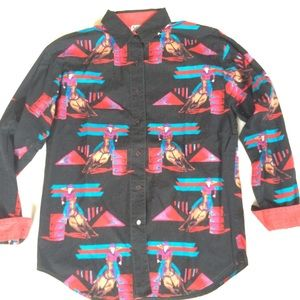 Vintage Cowgirl Rodeo Shirt
